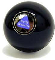 The 8 Ball Says: Build Website
